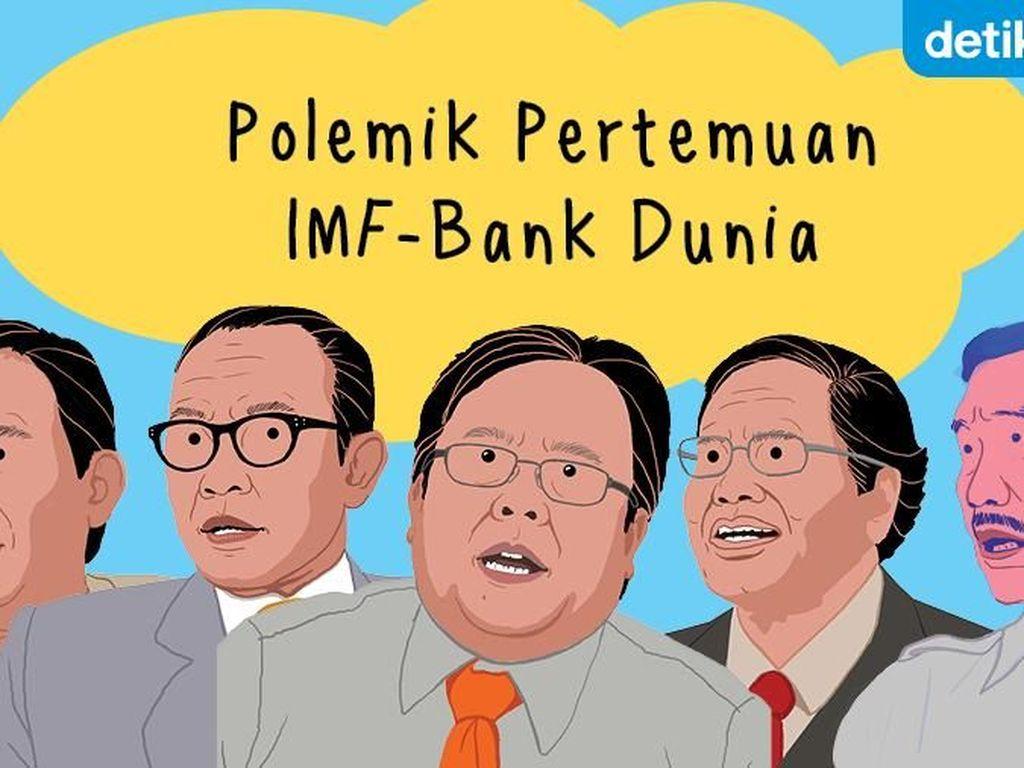 Polemik Pertemuan IMF-Bank Dunia