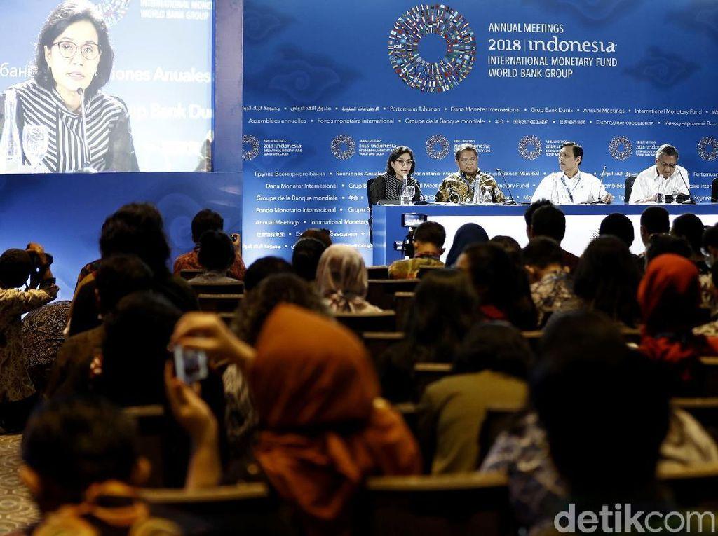Rangkaian Agenda Menarik di Pertemuan IMF-WB Bali Hari Kedua