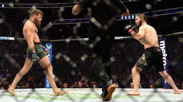 Conor McGregor pernah dikalahkan Khabib Nurmagomedov.