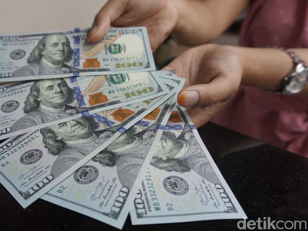 Dolar AS Mengamuk Lagi, Pagi Ini Rp 14.220