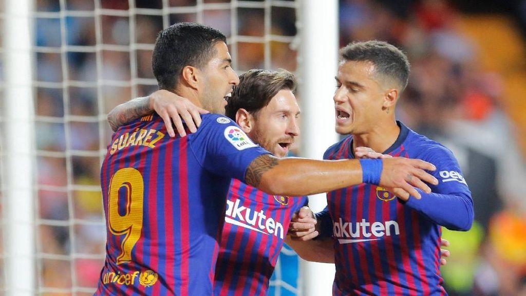 Pekan Indah untuk Barcelona: Hadapi Sevilla, Inter, dan Madrid