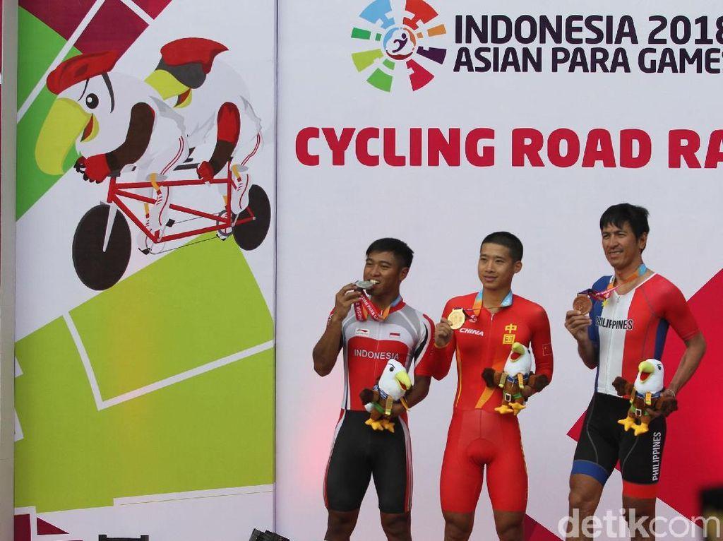 Balap Sepeda Sumbang Satu Medali Perak dan Empat Perunggu