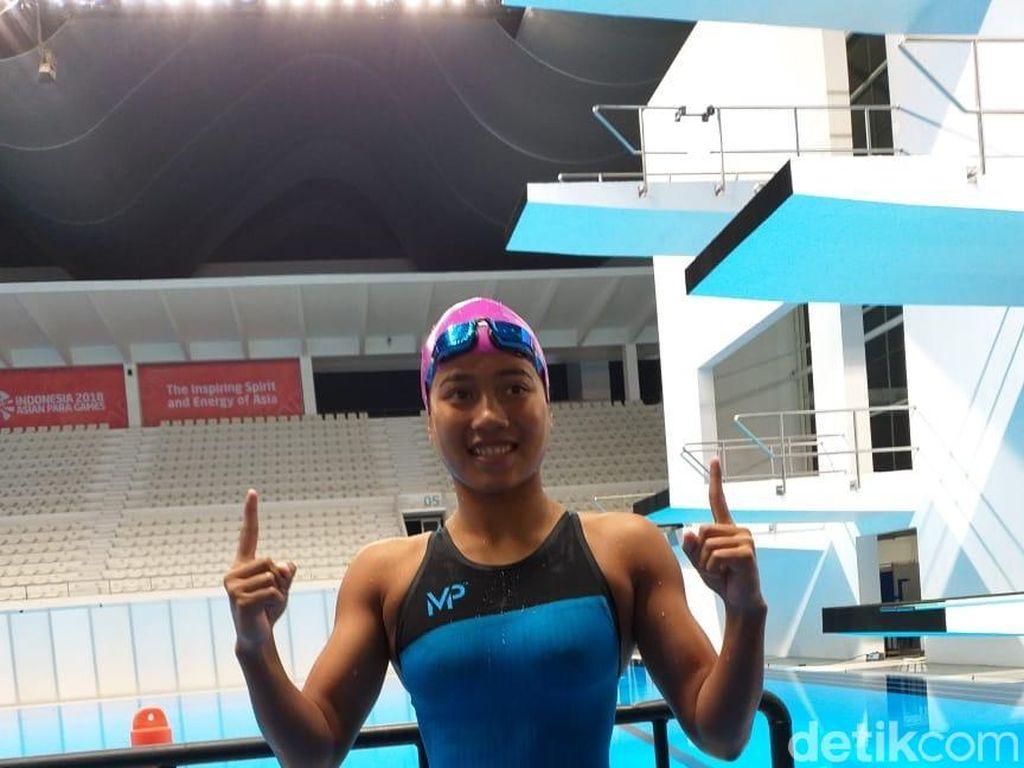 Perenang Syuci Tambah Emas untuk Indonesia di Asian Para Games