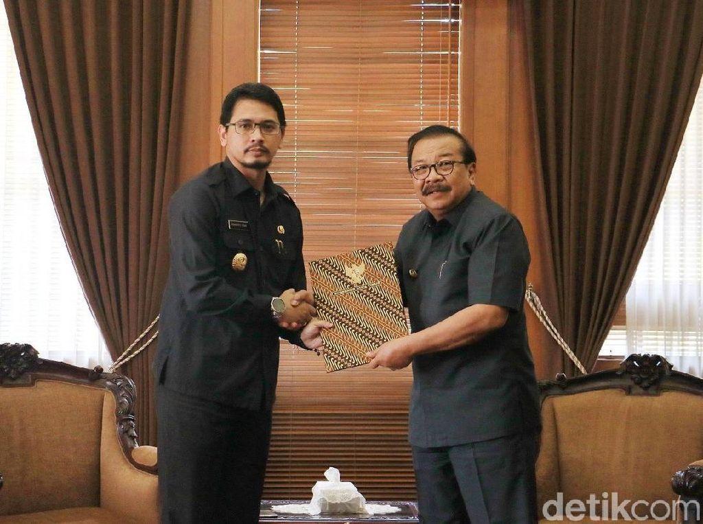 Gubernur Jatim Serahkan Pengganti Jabatan Wali Kota Pasuruan