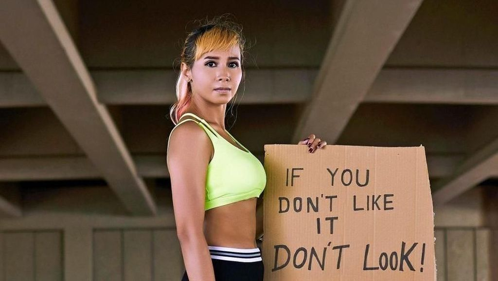 Potret Rosalina, Model Berkaki Satu Ikon Keberagaman di Asian Para Games