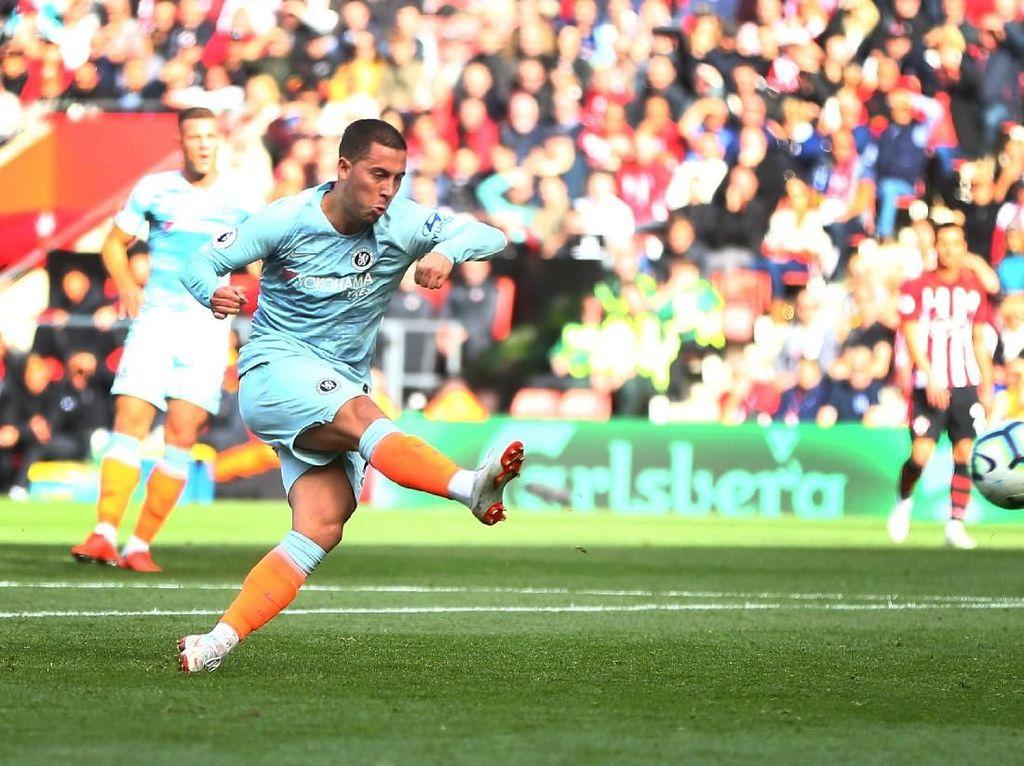 Hazard di Antara Top Skorer Chelsea