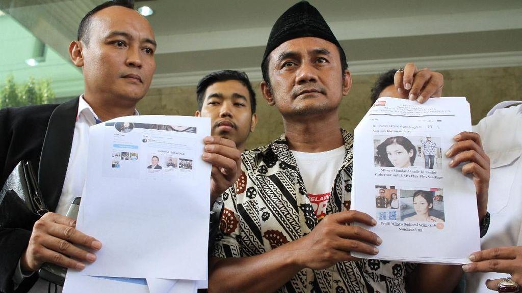Relawan Prabowo-Sandi Laporkan Situs Skandal ke Mabes Polri