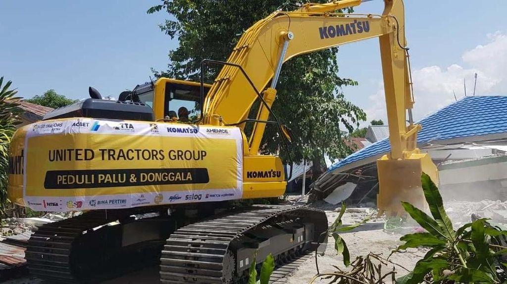 United Tractors Kerahkan Alat Berat Bantu Korban Gempa Palu