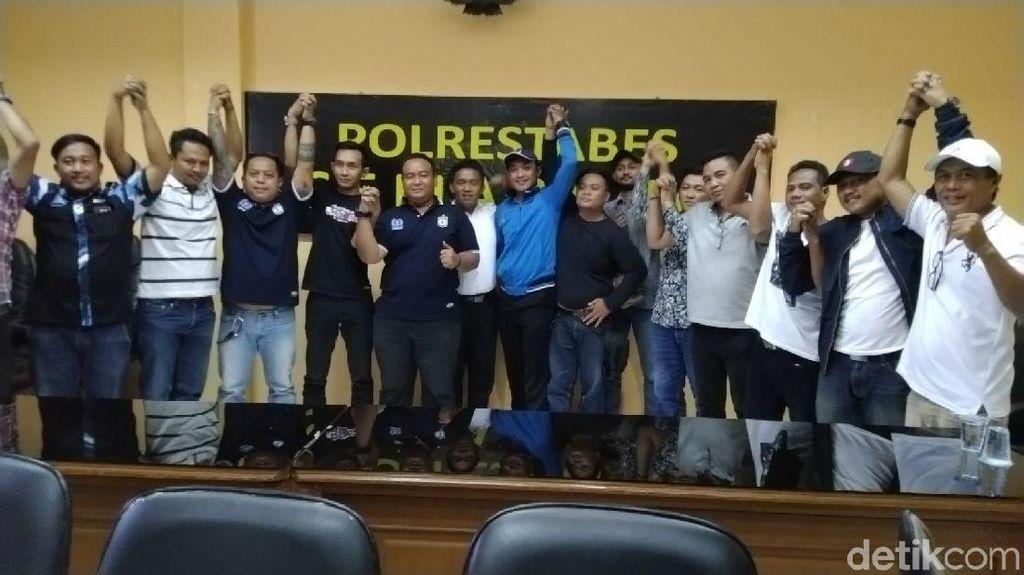 Rusak Mini Market, Suporter Persis Minta Maaf ke Warga Semarang