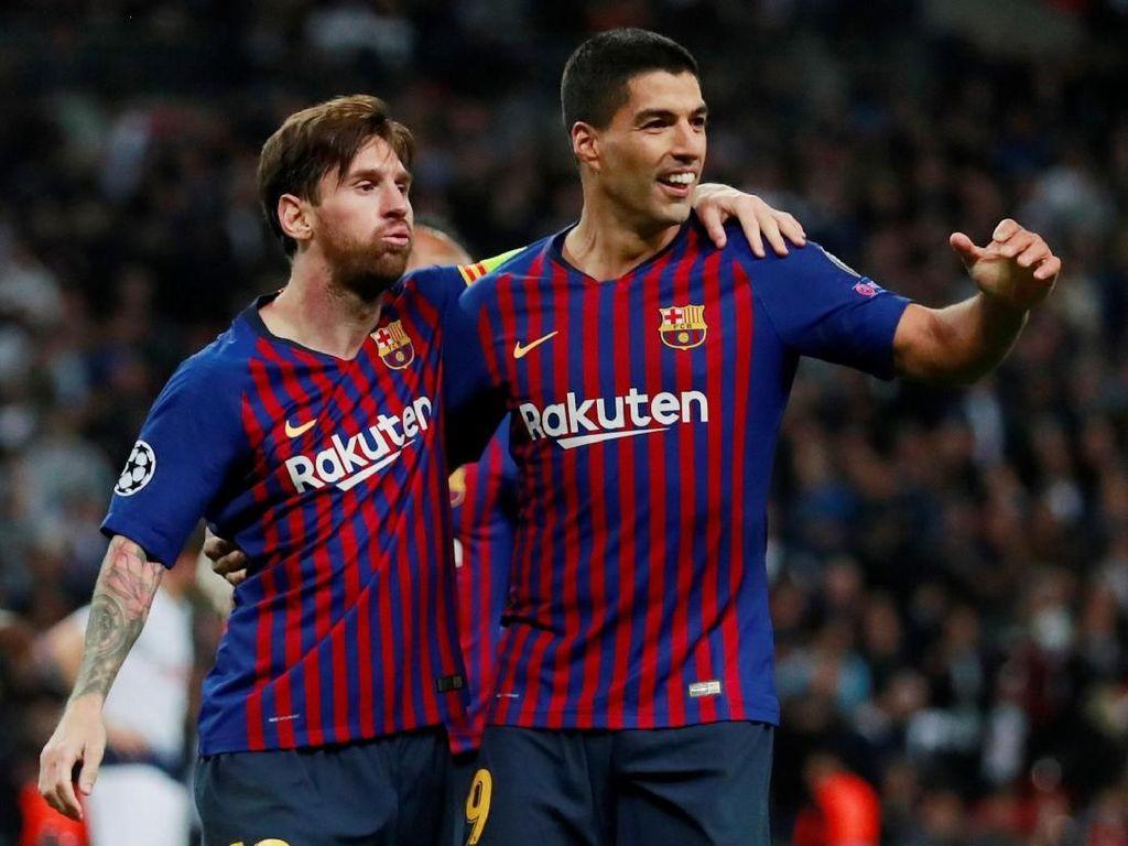 Messi-Suarez yang Kian Kompak