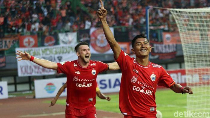Persija Jakarta ingin terus memburu Persib Bandung (Agung Pambudhy/detikSport)