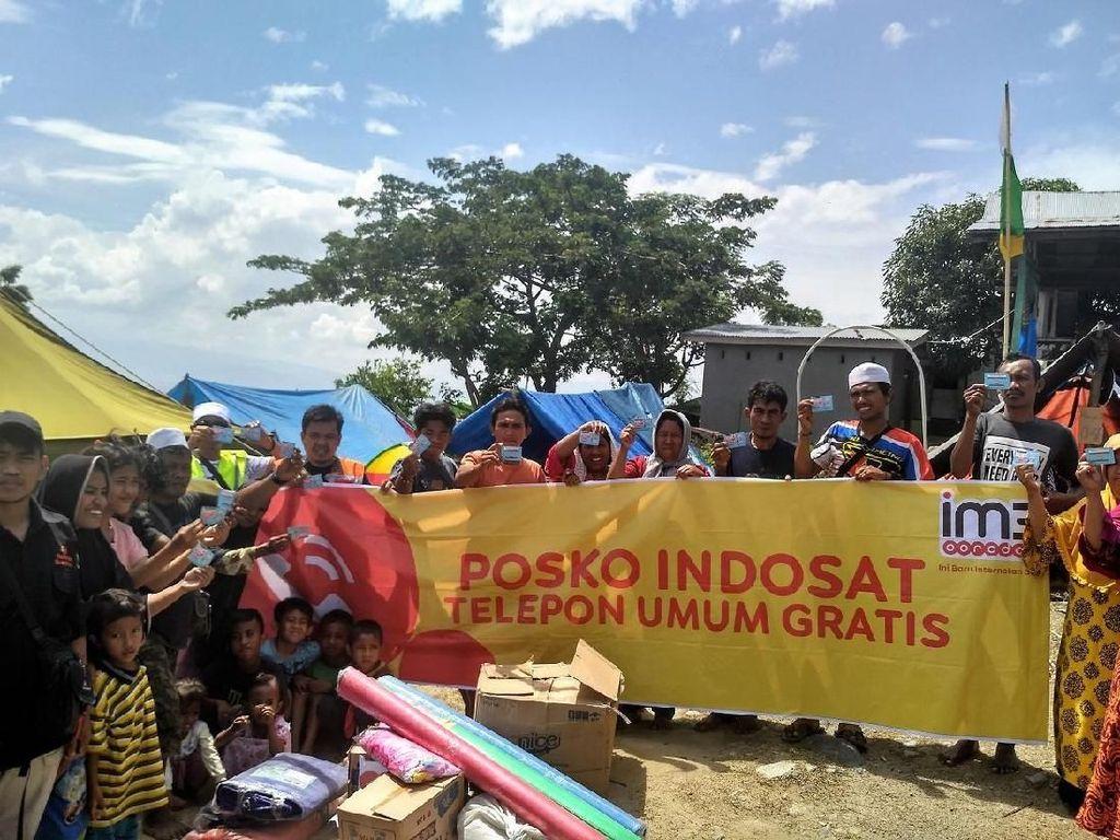90% BTS Indosat di Palu dan Donggala Sudah Pulih