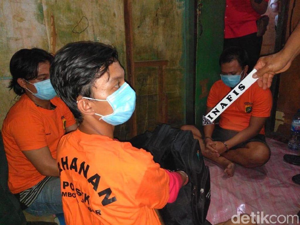 Edarkan Narkoba Berkedok Tawuran, 3 Bandar Ditangkap Polisi