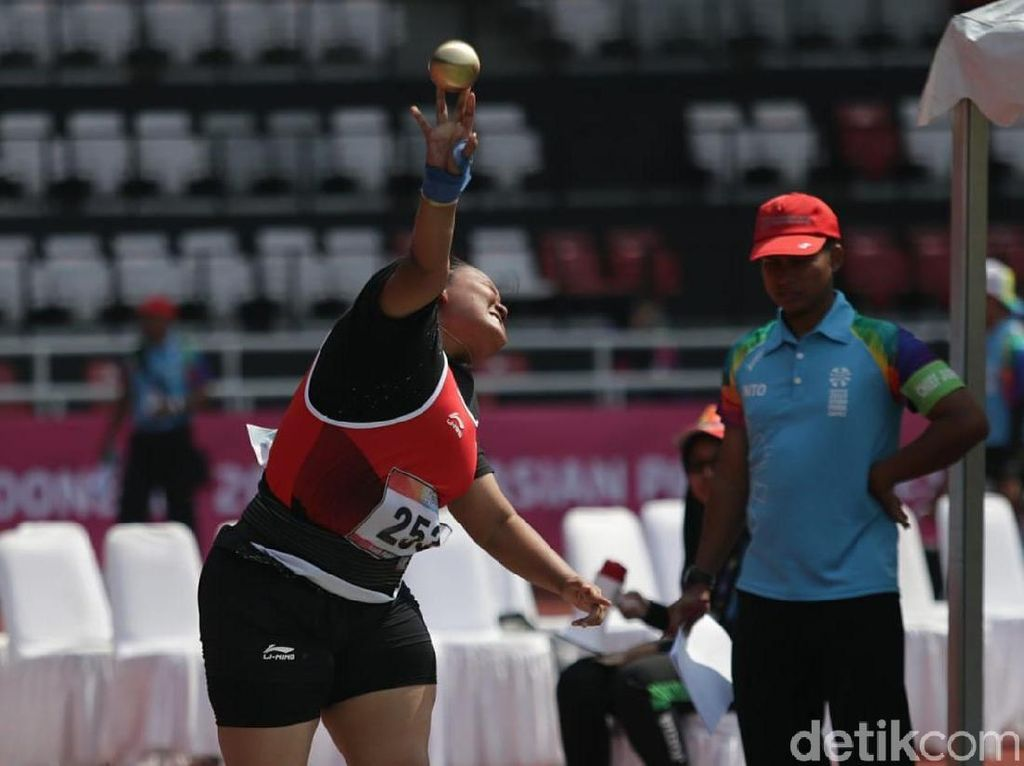 Atletik Persembahkan Emas Kedua untuk Indonesia