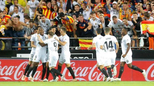 Valencia tidak pernah menang atas Man United di Liga Champions.