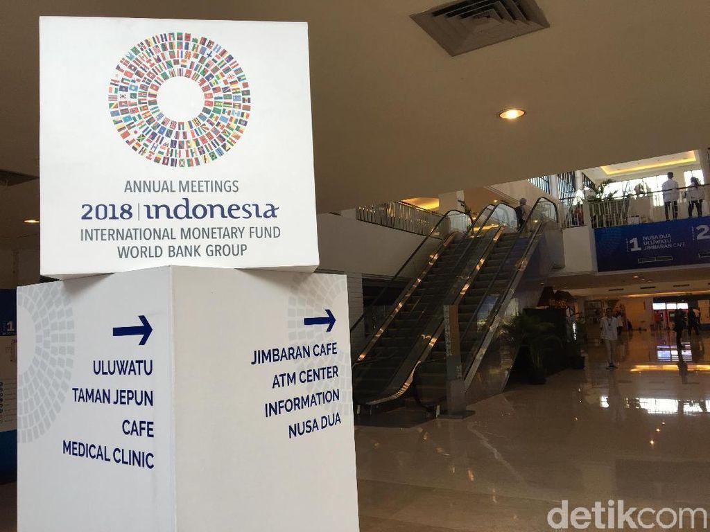 Ribuan Delegasi Pertemuan IMF-WB Padati Bali Malam Ini