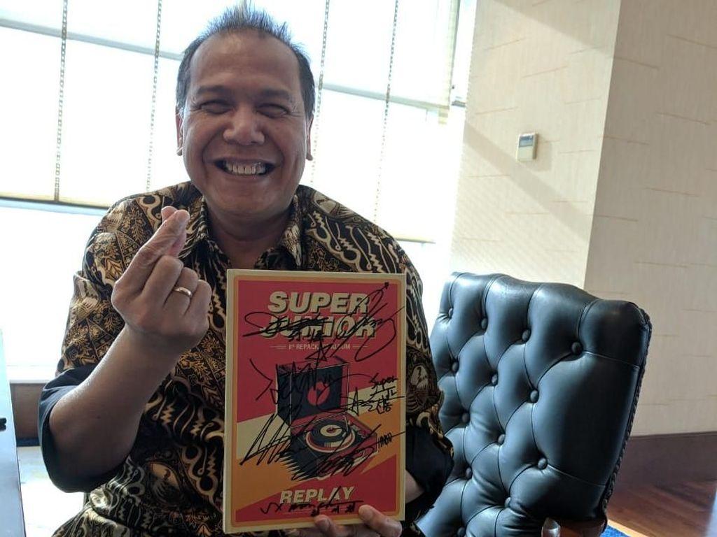Chairul Tanjung Harap Kerja Sama SM Entertainment-Transmedia Lahirkan I-Pop