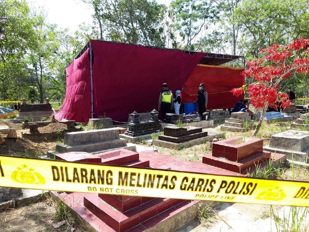 Makam Ibu Muda di Boyolali Dibongkar, Suami Resmi Jadi Tersangka