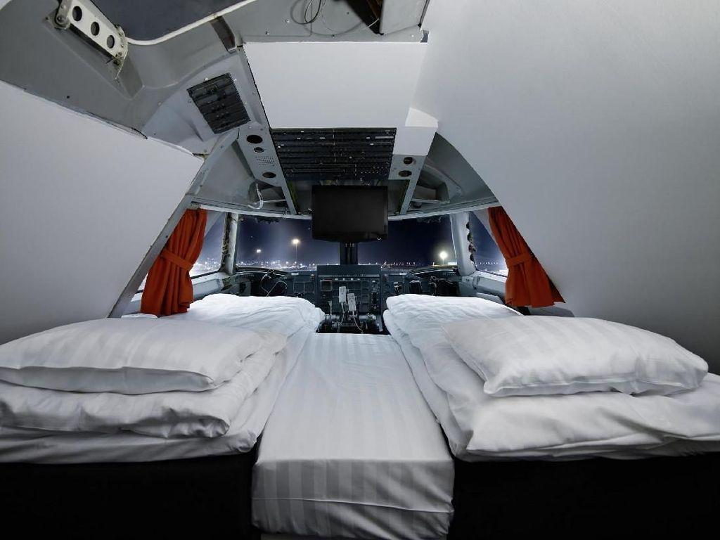 Beginilah Kalau Pesawat Jadi Hostel