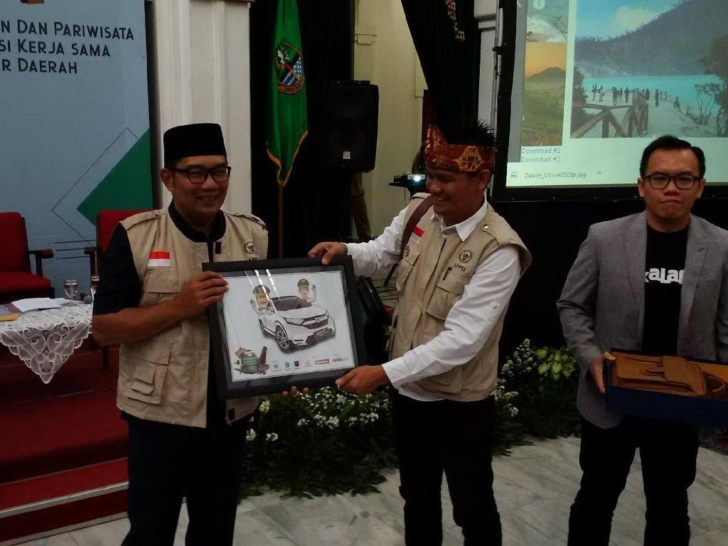 Ridwan Kamil Paparkan Potensi Selfie Ekonomi Jabar ke Tim APPSI