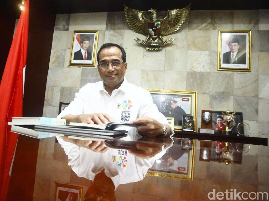 Budi Karya ke Istana, Mau Jadi Menteri Lagi?