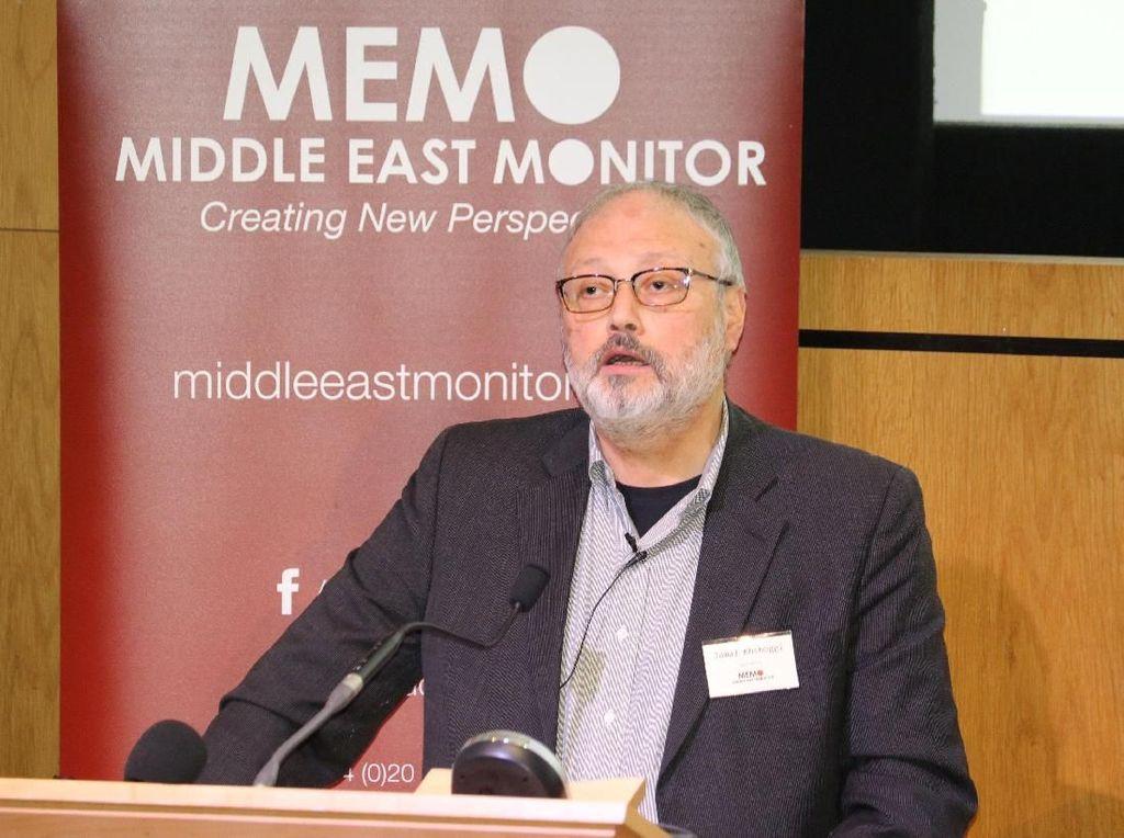 Ini Kata-kata Terakhir Jamal Khashoggi Sebelum Dibunuh