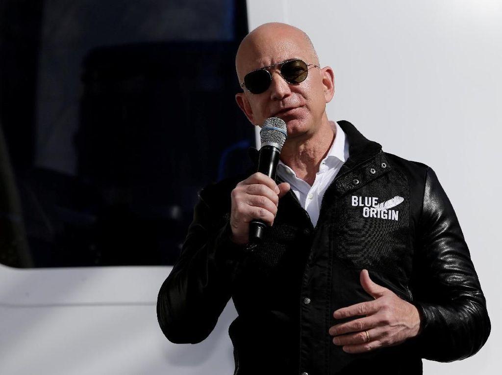 Didera Drama Selingkuh, Jeff Bezos Malah Tambah Kaya Rp 119 T