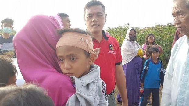 Iyas ada di pesisir Pantai Talise saat terjadi gempa-tsunami. Dia terpisah dari kakak dan ibunya saat itu