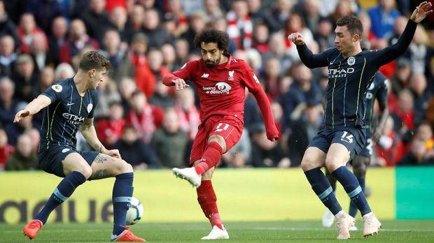 Liverpool dan Manchester City bersaing ketat hingga pekan terakhir Liga Inggris.