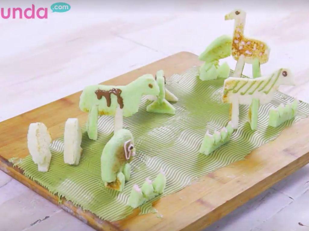 Resep Roti 3D Bentuk Hewan, Anak Dijamin Doyan Makan