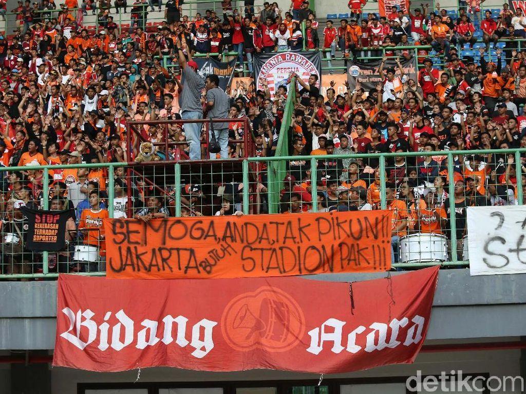 The Jakmania Tagih Janji Stadion BMW ke Pemprov DKI
