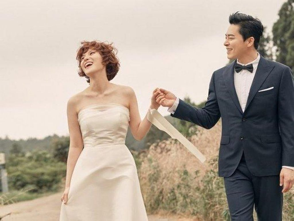 Sah! Jo Jung Suk dan Gummy Resmi Menikah