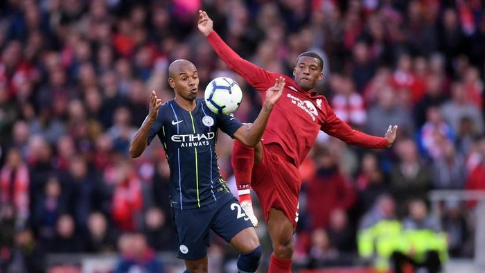 Duel Liverpool vs Manchester City berakhir tanpa gol. (Foto: Laurence Griffiths/Getty Images)
