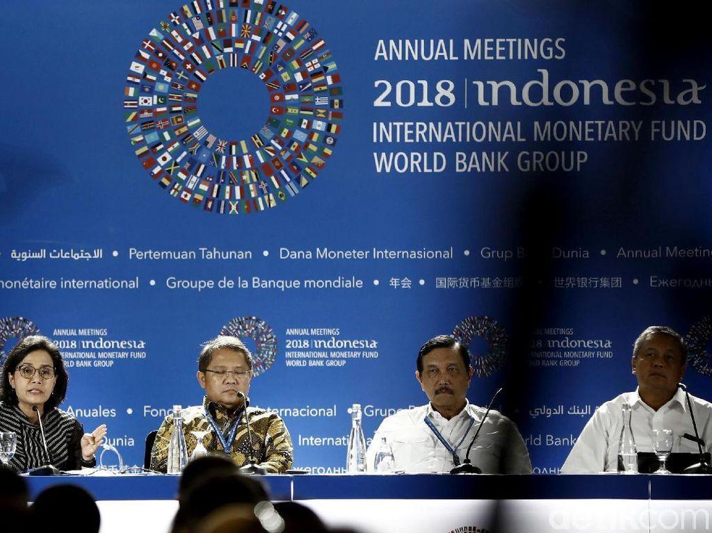 Pertemuan IMF-WB Disebut Pemborosan, Ini Pembelaan Pemerintah