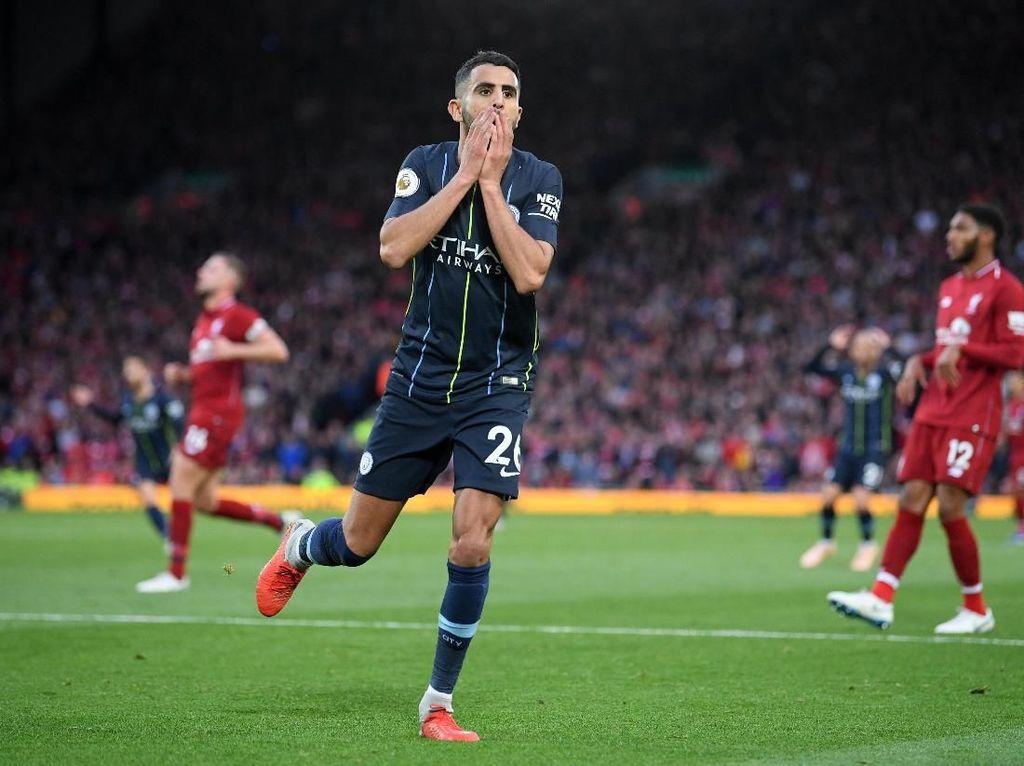 Guardiola Tak Permasalahkan Penalti Gagal Mahrez