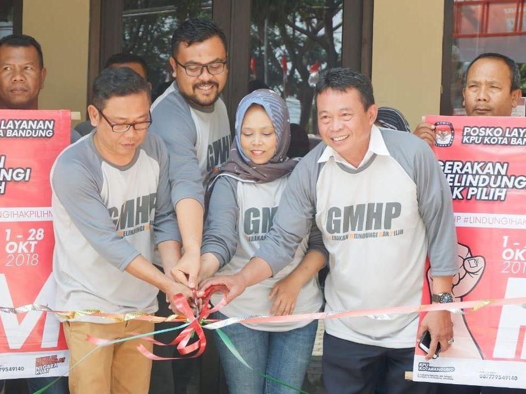 Belum Masuk DPT, Yuk Lapor ke Posko Hak Pilih KPU Bandung