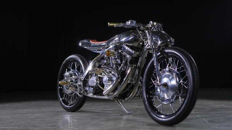 Harley-Davidson Softail Evolution jawara Kustomfest (Foto: dok. Kustomfest)