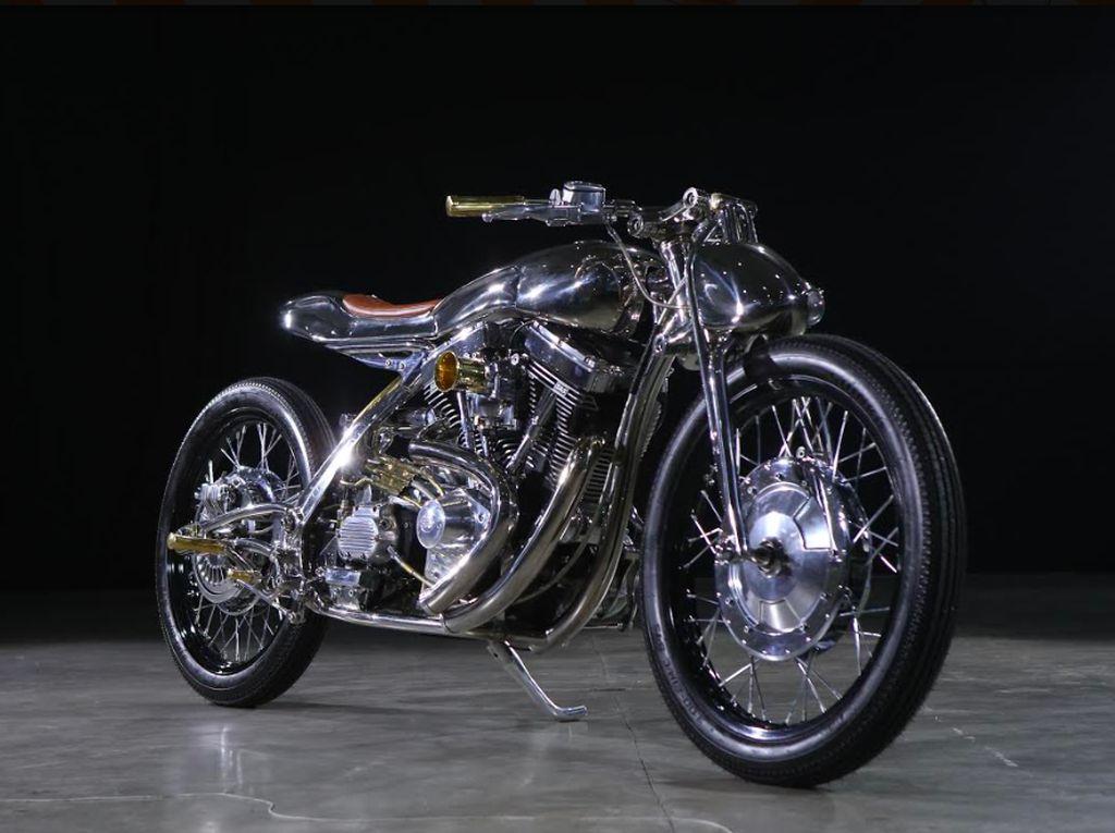 Cantiknya Harley Ini, Kinclong Abis!