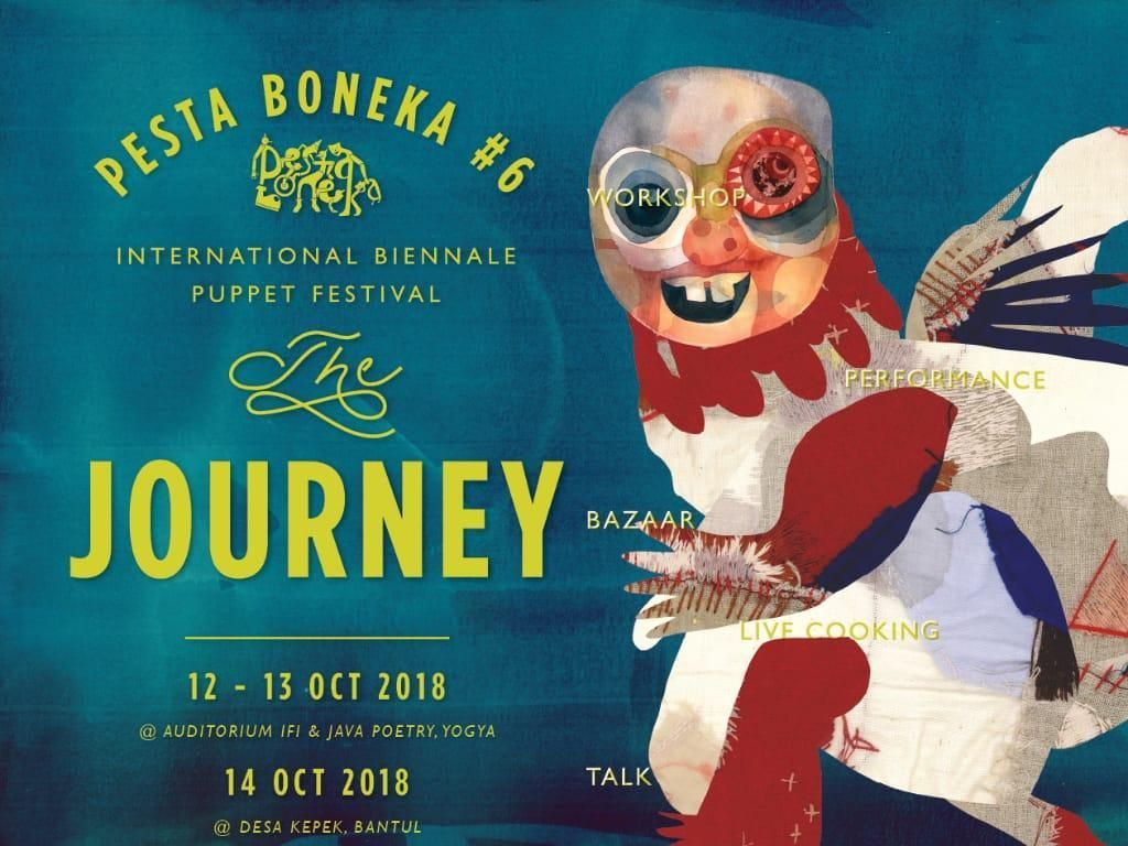18 Negara Ikuti Pesta Boneka #6 di Yogyakarta