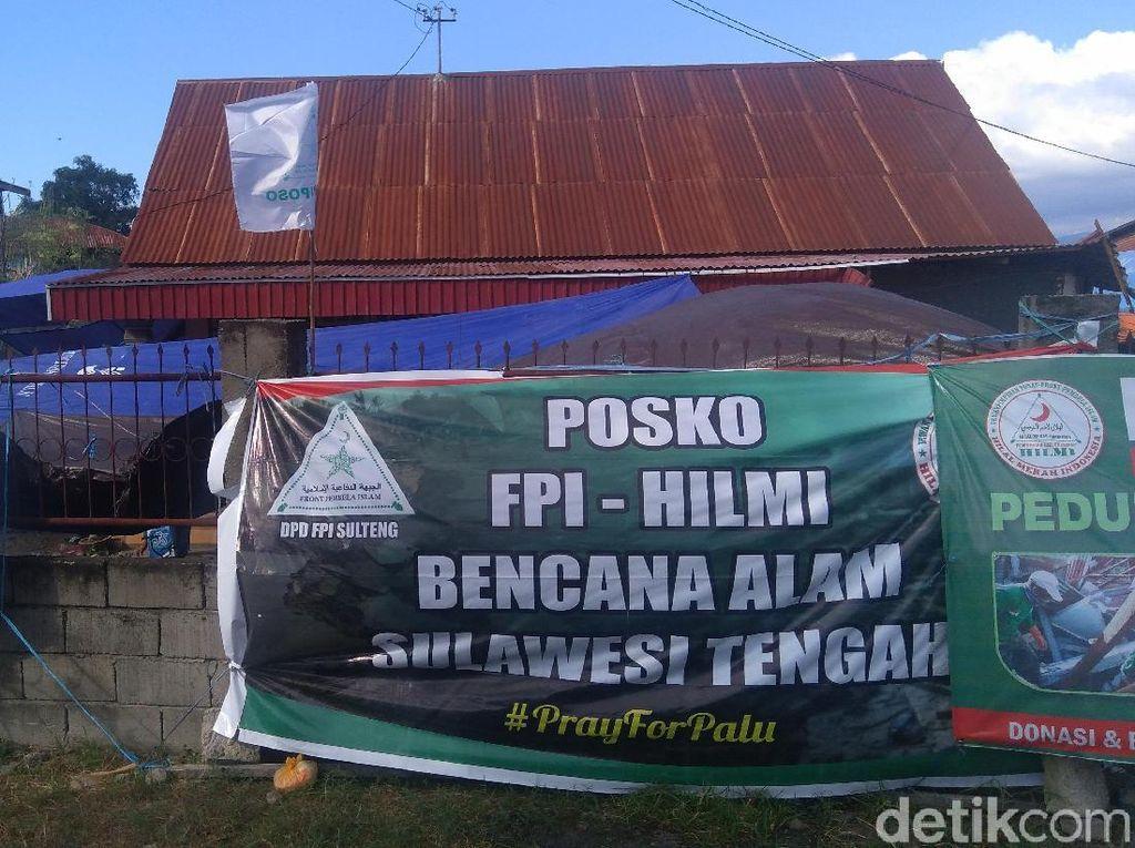 Ratusan Relawan FPI Diterjunkan Bantu Korban Bencana Sulteng