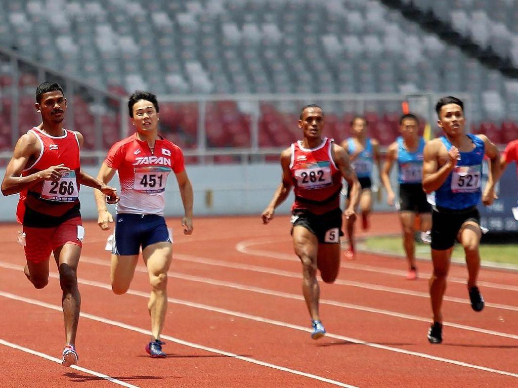 Indonesia Raih Perak dan Perunggu dari Cabor Atletik Nomor 400 M