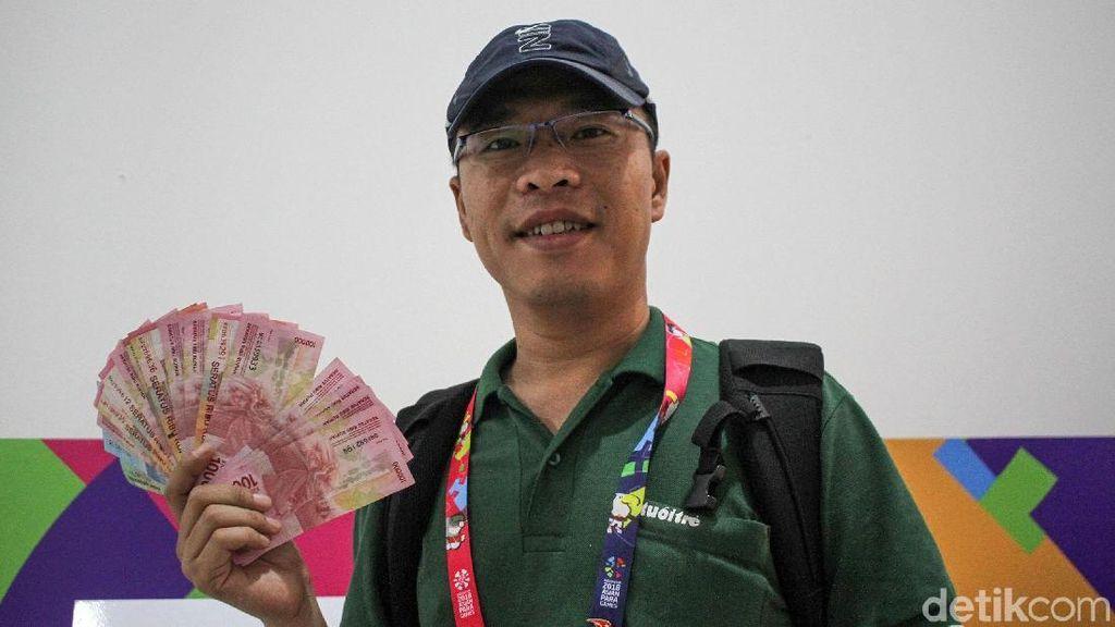 Mengintip Aktivitas Money Changer di Ajang Asian Para Games 2018