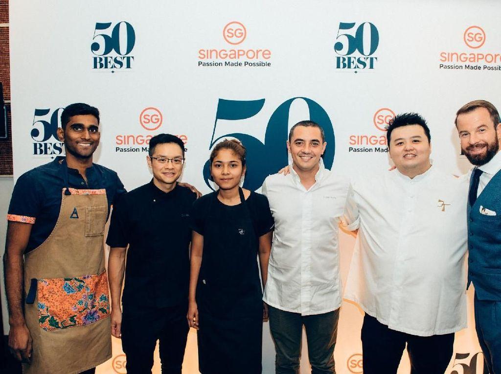 Singapura Jadi Negara Asia Pertama Tuan Rumah The Worlds 50 Best Restaurant 2019
