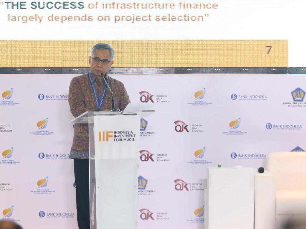 OJK: Pasar Modal Jadi Sumber Pembiayaan Infrastruktur
