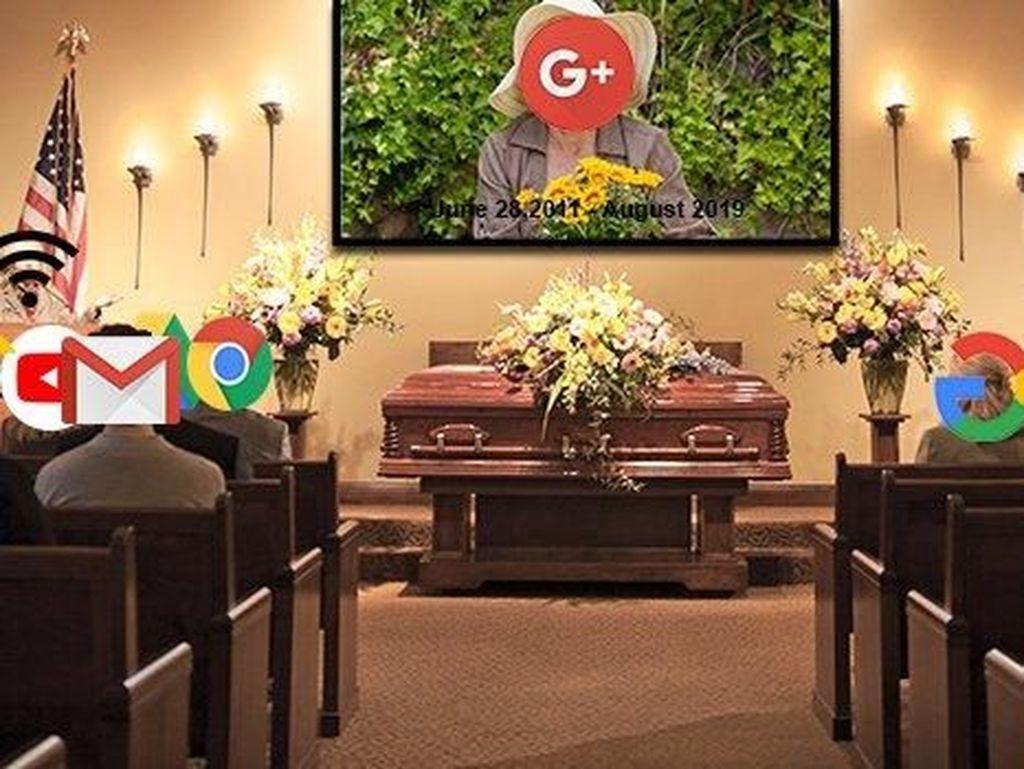 2 April 2019, Tanggal Kematian Google+