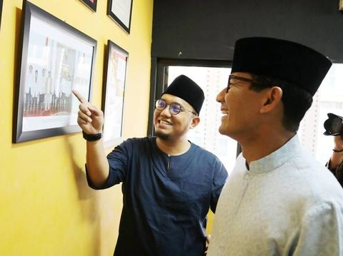 Koordinator Juru Bicara BPN Prabowo-Sandi, Dahnil Anzar Simanjuntak.