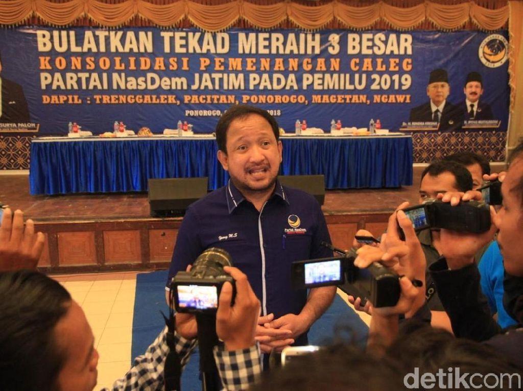 Diminta Jadi Ketua DPW NasDem Jatim, Ini Jawaban Bupati Ipong