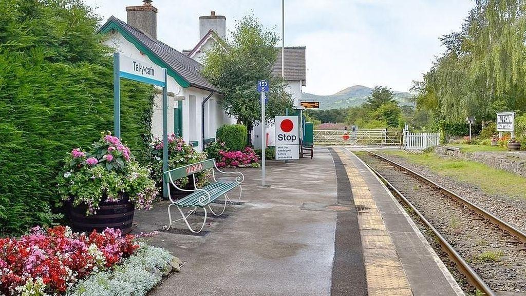 Foto: Hotel Cantik di Wales Ini Dulunya Rumah Kepala Stasiun