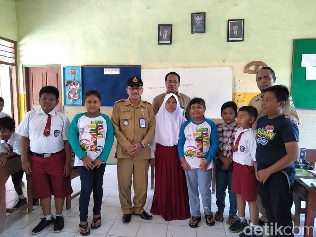 Anak Korban Gempa-Tsunami Sulteng Sekolah Gratis di Lamongan