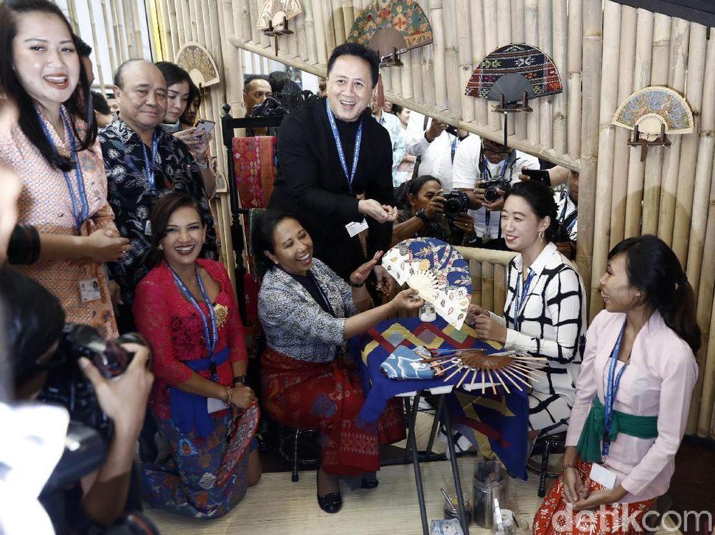Cek Yuk Aneka Tawaran Investasi di Paviliun Indonesia IMF-WB Bali
